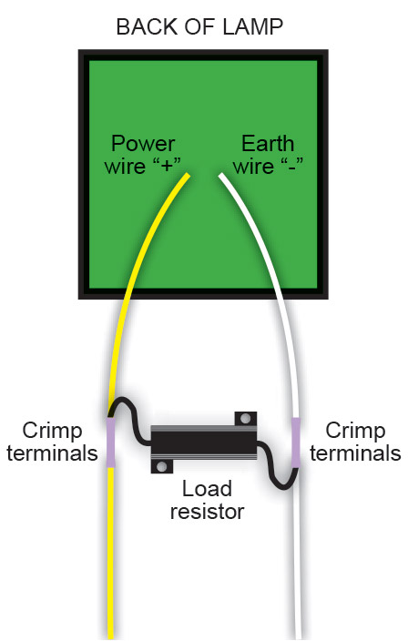 Led Load Resistor Wiring Diagram