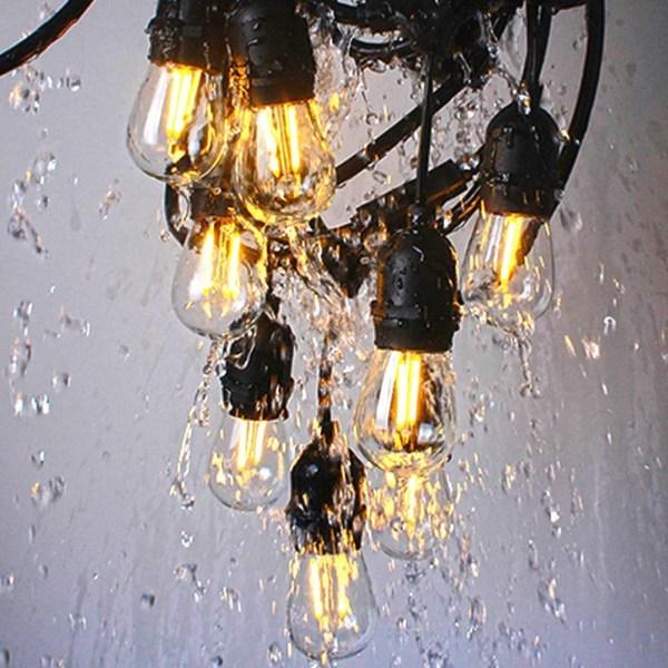 LED Edison Filament Bulb E27 2W 5 | LED Corner