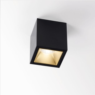 DeltaLight BOXY L+ LED 3033 ALU GREY - Ceiling Surface mounted - 251678122A-A