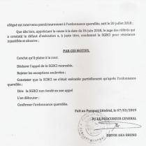 COCLUSION DU MINISTERE PUPLIC 2 002