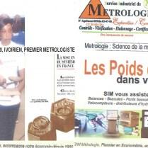 40 ANS DE METROLOGIE
