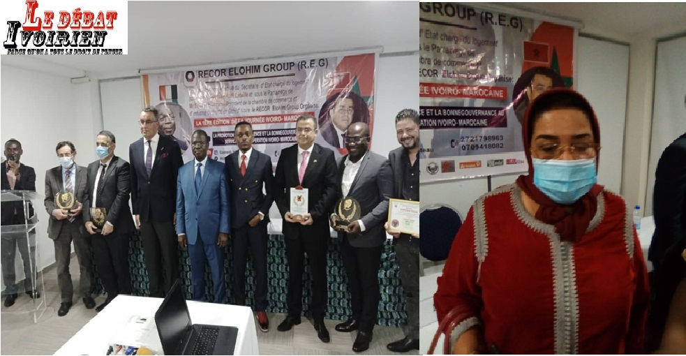 Coopération Sud-Sud: l'amitié Ivoiro-Marocaine célébrée autour de la visibilité des entreprises LEDEBATIVOIRIEN.NET
