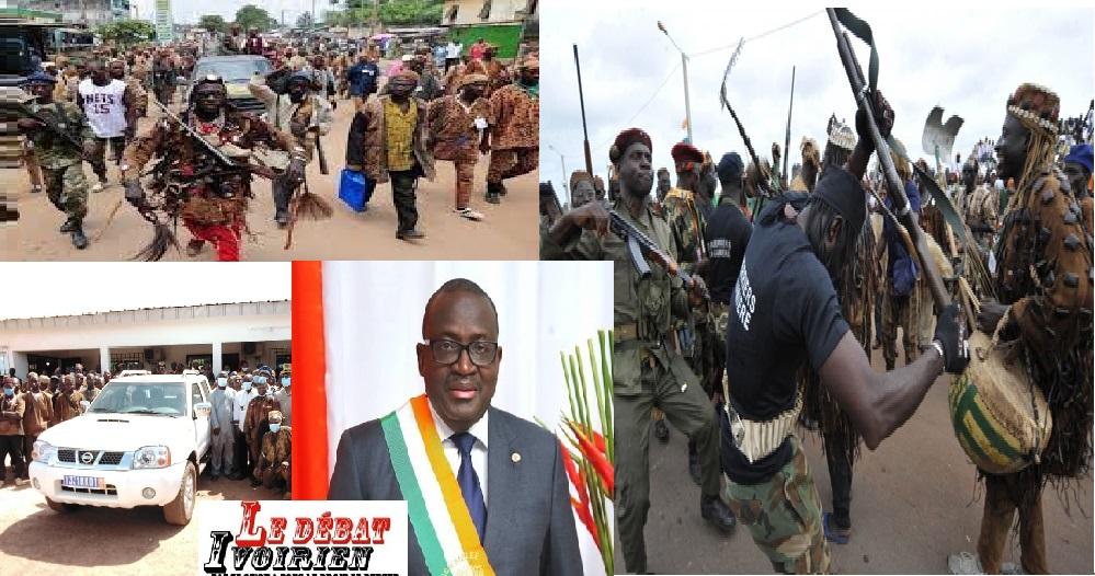 que cache le don de l'Etat aux Dozos accusés d'abus par l'ONU dans les crises militaro-civiles en Côte d'Ivoire?ledebativoirien.net