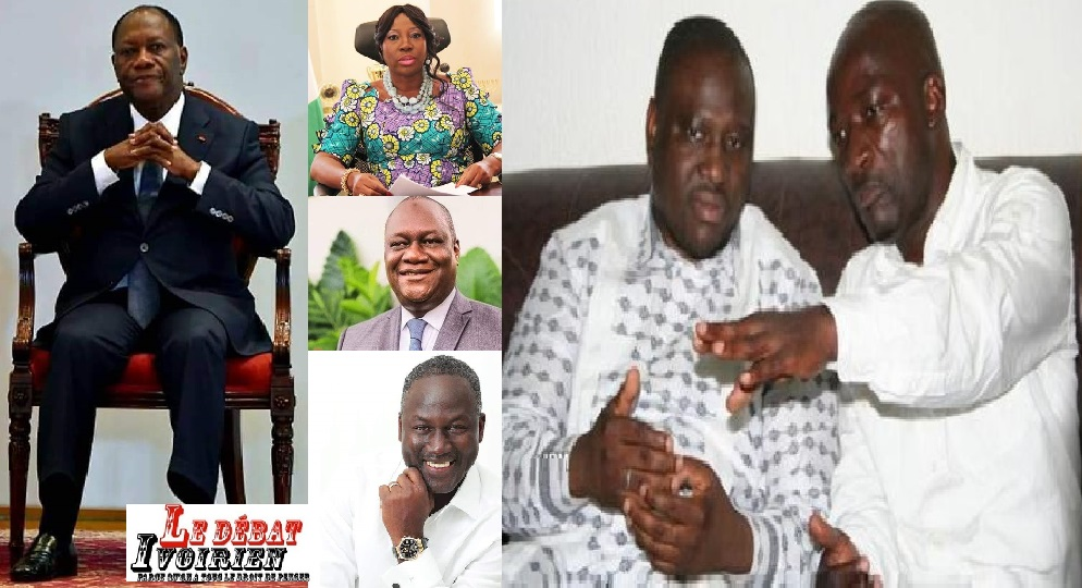 succession de Ouattara Alassane a problème, Soro, Gbagbo, Blé Goudé engrenage, ledebativoirien.net