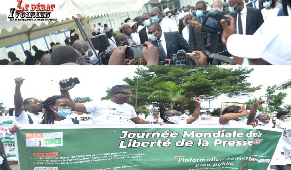 66e cote d'ivoire dans la protection d la liberté de la presse ledebativoirien.net