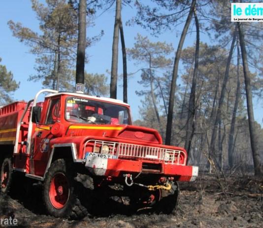 incendie Forêt St Georges de Blancaneix