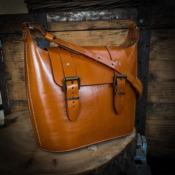 Tasche im Stil der 60er Jahre