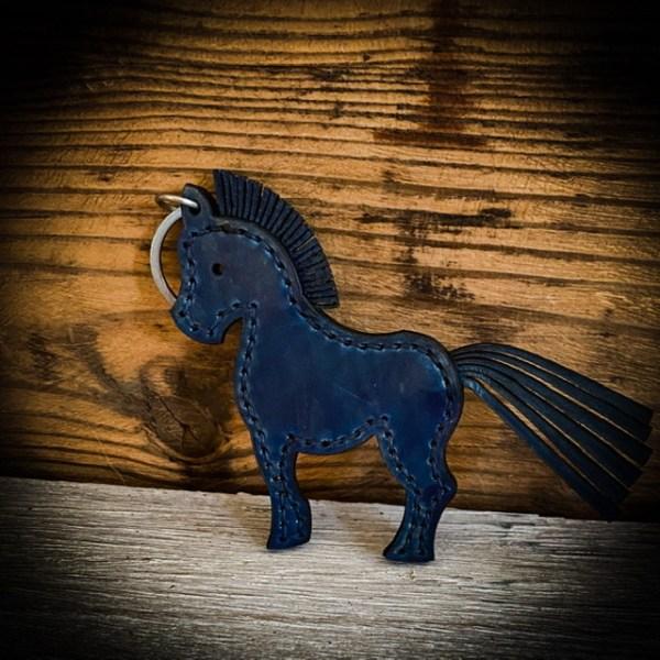 Schlüsselanhänger Pferd, Pony Auf Wunsch mit Namen