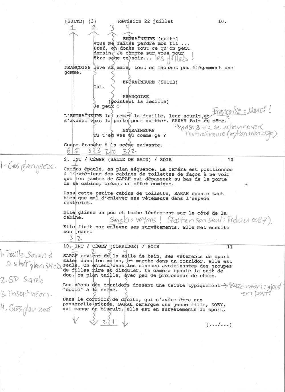 Au Vu Ou Aux Vues : L'importance, Continuité, Selon, Scripte, Patrick, Aubert, Devoir