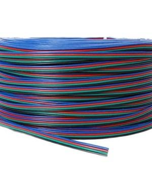 4 eres RGB Led szalag vezeték 12V, 40,20 mm2