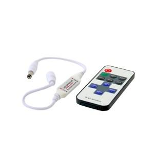 Dimmer egyszínű LED szalaghoz 72W, 11 gombos