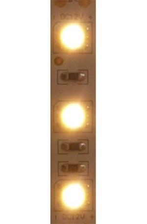 Extra erõs Led szalag 60 ledm, 5050 chip, 1090 Lumen, 2700 kelvin IGAZI MELEG FEHÉR, E dupla fényerõ! 360 lux/m