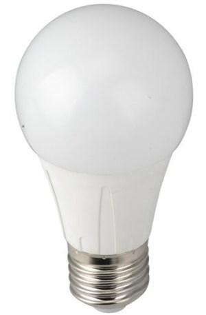 Led körte égő 6W közép fehér, 60W izzó helyett, 700 Lumen, E27 foglalat, 60mm. Nem vibrál a fénye! 3 év garancia