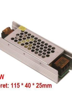 Led tápegység 25W 12V IP20, fémház