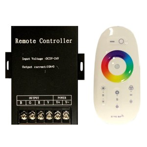 RGB led szalag vezérlő, 360W, rádiós, érintős