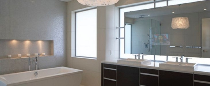 Led hangulatvilágítás a fürdőszobába