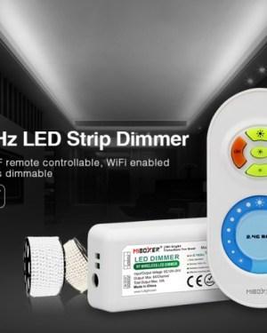 Milight fényerőszabályozó szett, dimmer touch távirányító+vezérlő (FUT021)
