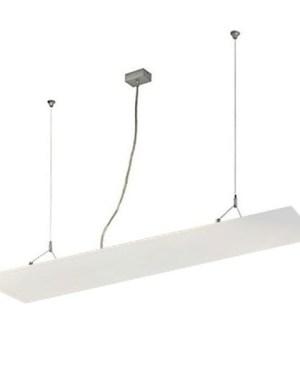 Led panel világítás, 30x120 cm, 51W, 3900 lumen, 3000K, meleg fehér, fehér kerettel