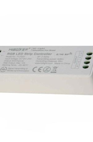 Wifis RGB led szalag csoport vezérlő, 4 zónás, 144W, rádiós. Távirányítóval is működik!