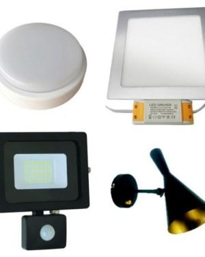 Led lámpák, beépíthető Led panelek, Led reflektorok