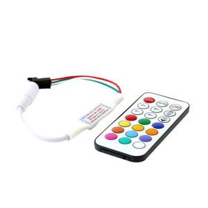 Magic rádiós RGB led szalag vezérlő, 366 program, akár 100 méter led szalaghoz!