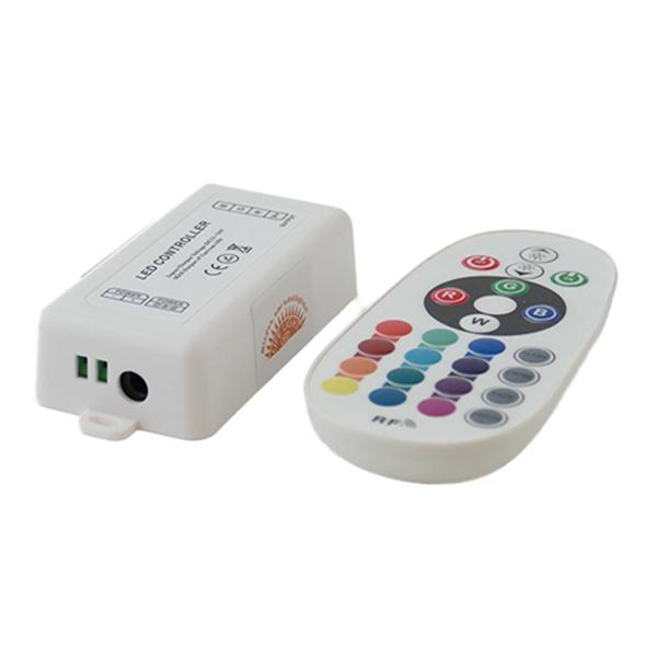 Rgb-led-szalag-vezerlo-144W-radios-24-gombos-egyedi-kodos.-600x600 Led szalag vezérlése - rövid betekintés a smart világítás világába ötletek Tippek