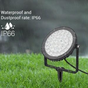 Vízálló kerti lámpa 15W (FUTC03) RGB-CCT IP66 védelem