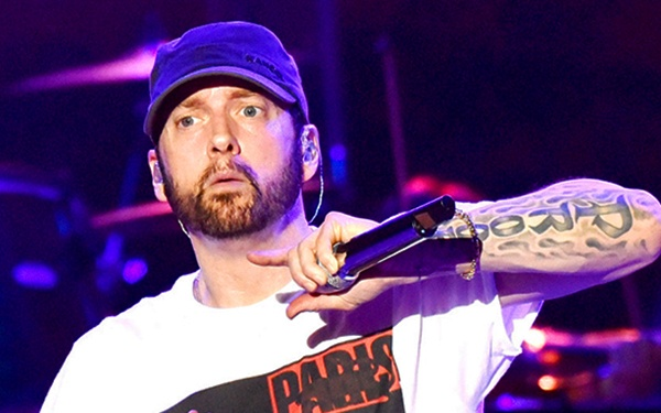it's no surprise that eminem is a best-selling artist with his many rap albums