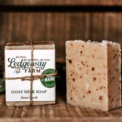 Sweet Earth Goat Milk Soap