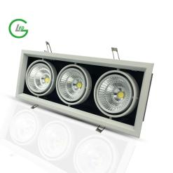 Đèn led downlight 3 bóng 45w COB GLED