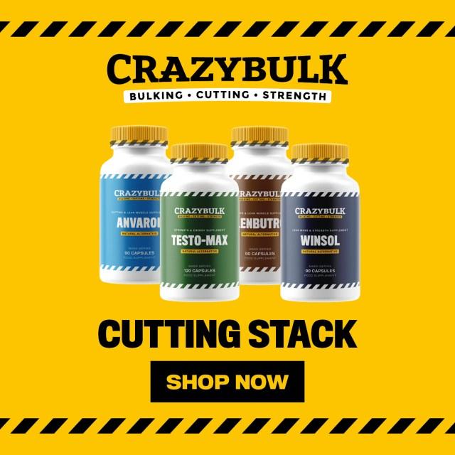 crazybulk cutting stack for bodybuilding