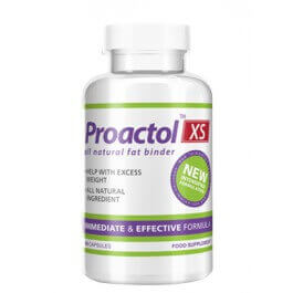 bauer nutrition proactol xs fat burner supplement