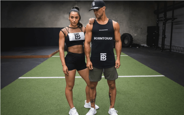 born tough exercise clothing for fitness