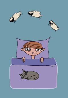 stress affects sleep