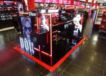 Dior podium maquillage Séphora CE