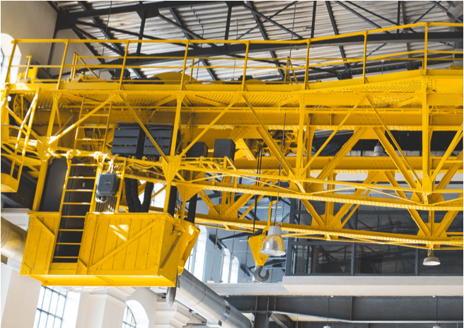 overhead crane design lighting