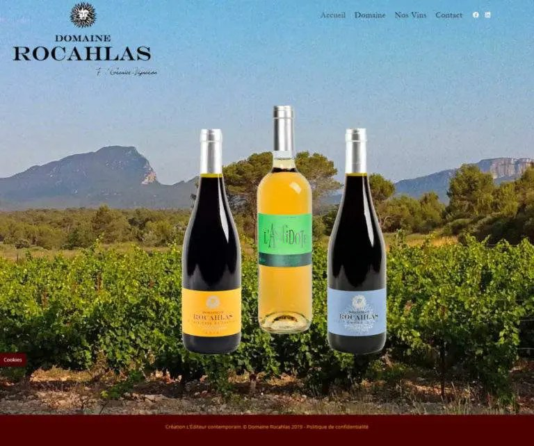 Domaine Rocahlas Fred Grenier