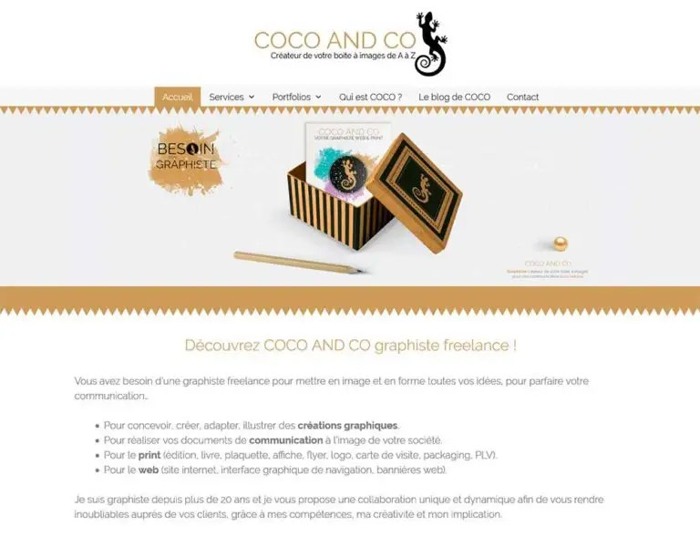 Coco And Co Claudine Defeuillet Graphiste freelance, Print et web