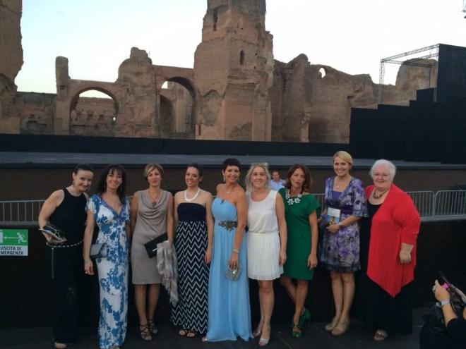 le divine alle Terme di Caracalla