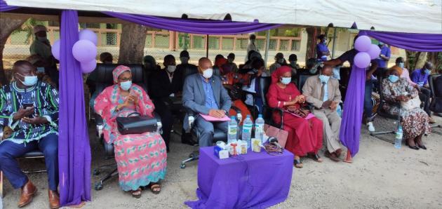 @Saa Momory KOUNDOUNO Les parents d'enfants prématurés venus assister à la célébration de la journée mondiale de la prématurité