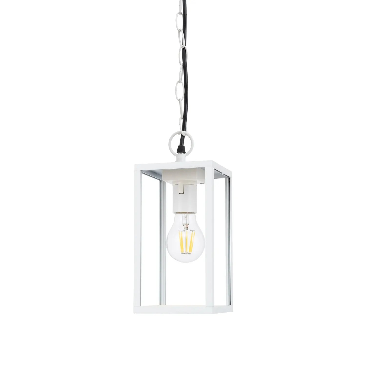 White Atrium Pendant Light