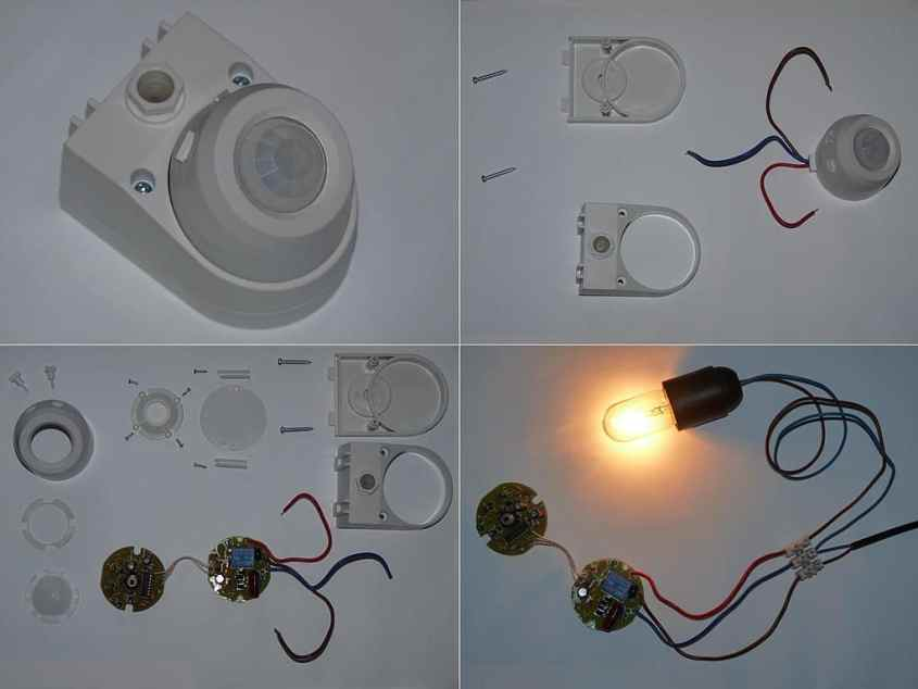 a motion sensor that controls light- Motion sensor tpes and how they work