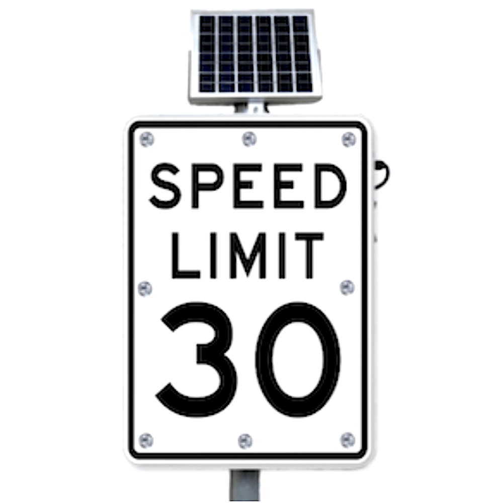 ledlighting-solutions.com: 30mph Flashing Speed Limit Sign