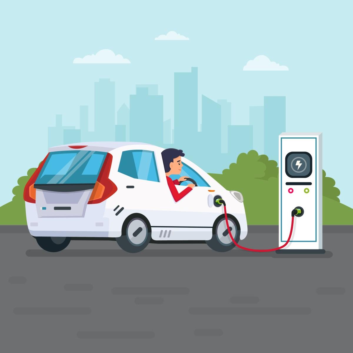 e-charging stations