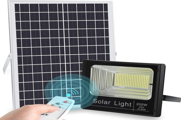solar powered led flood lights outdoor