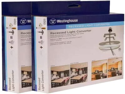 recessed light conversion kits