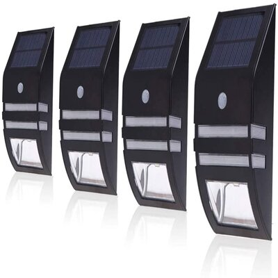 Paradise solar fence lights
