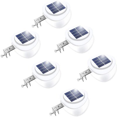 best solar fence light