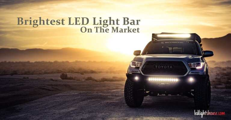 Brightest LED light bar on the market