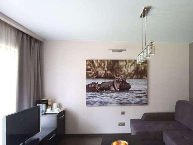 Девяткино, ул. Шувалова д. 5, Белые натяжные потолки в квартиру 45 кв.м., Цена под ключ - 17580 рублей